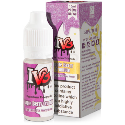 Apple Berry Crumble E-Liquid by I VG 50/50 - Vapolino UK