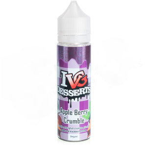 Apple Berry Crumble E-Liquid by IVG Desserts 50ml - Vapolino UK