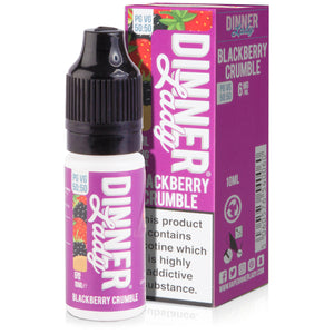 Blackberry Crumble E-Liquid by Dinner Lady 50/50 - Vapolino UK
