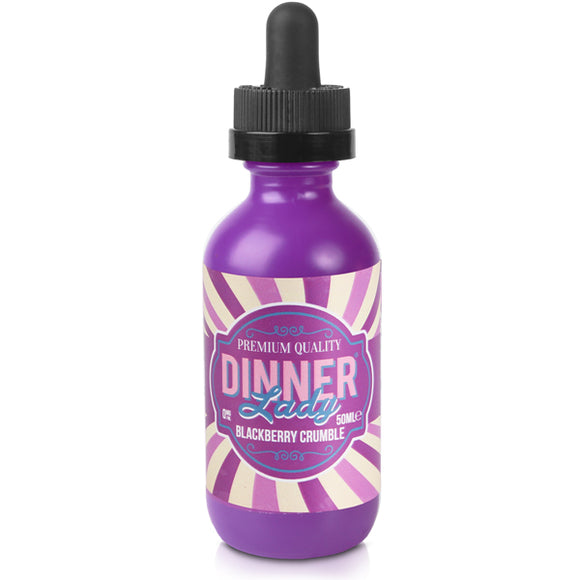 Blackberry Crumble E-Liquid by Dinner Lady 50ml - Vapolino UK