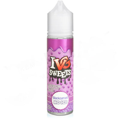 Blackcurrant E-Liquid by IVG No Ice 50ml - Vapolino UK