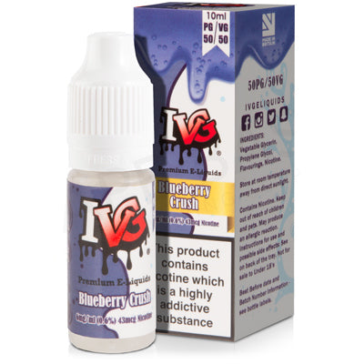 Blueberry Crush E-Liquid by I VG 50/50 - Vapolino UK