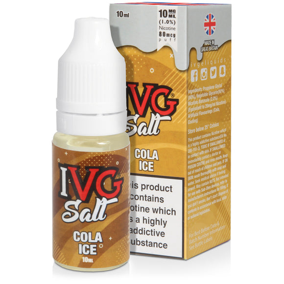 Cola Ice E-liquid by IVG Salts - Vapolino UK