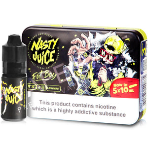Fat Boy High VG E-Liquid by Nasty Juice - Vapolino UK