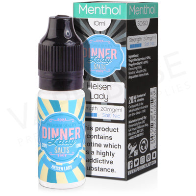 Heisen Lady Salt Nicotine E-Liquid by Dinner Lady - Vapolino UK