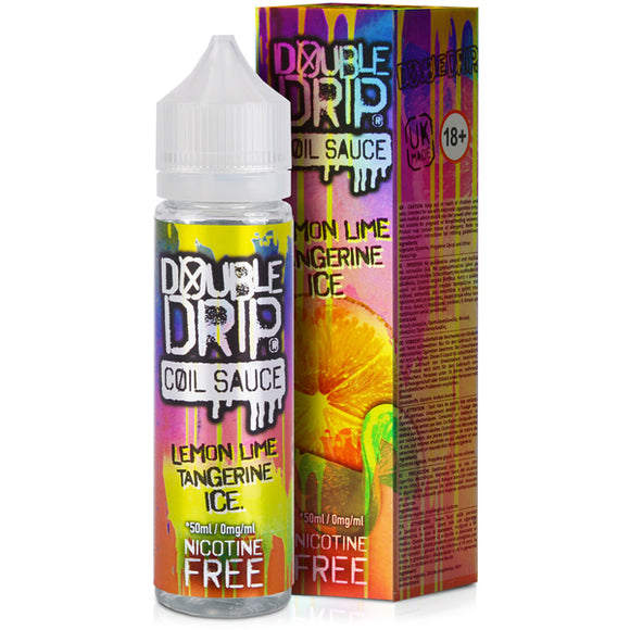 Lemon Lime Tangerine Ice E-Liquid by Double Drip 50ml - Vapolino UK