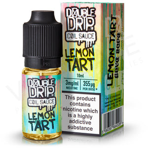 Lemon Tart E-Liquid by Double Drip - Vapolino UK
