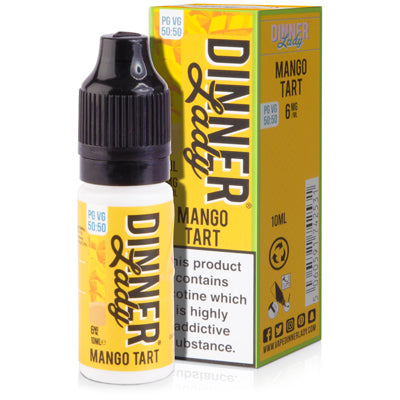Mango Tart E-Liquid by Dinner Lady 50/50 - Vapolino UK