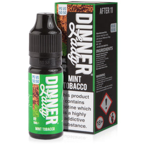 Mint Tobacco E-Liquid by Dinner Lady 50/50 - Vapolino UK