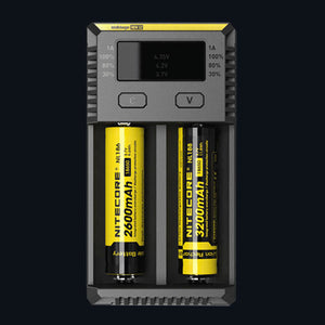 NITECORE NEW I2 Battery Charger - Vapolino UK