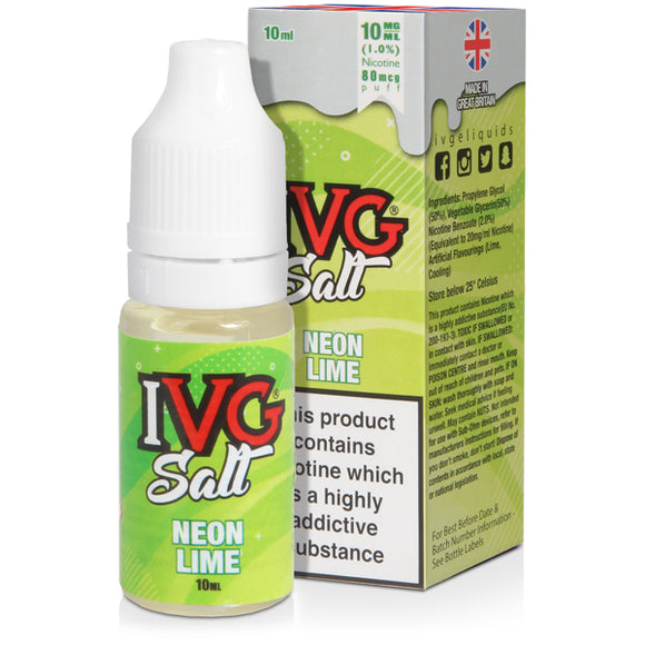 Neon Lime E-Liquid by IVG Salts - Vapolino UK