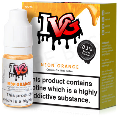 Neon Orange E-Liquid by IVG - Vapolino UK