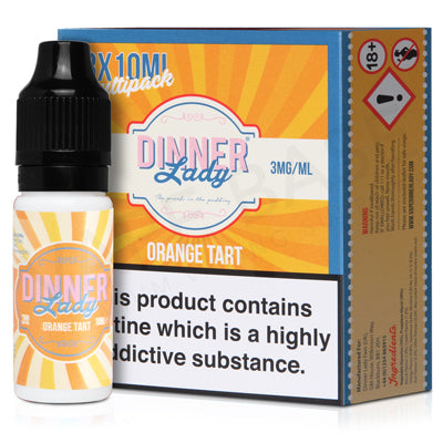 Orange Tart E-Liquid by Dinner Lady - Vapolino UK