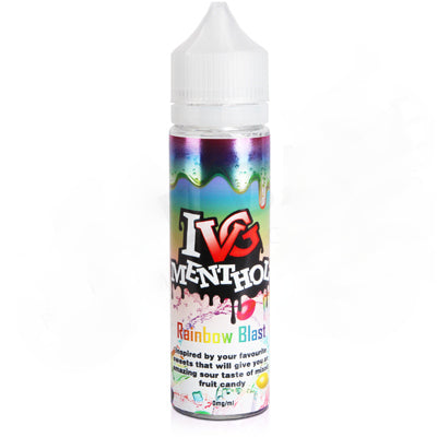 Rainbow Blast E-Liquid by IVG Sweets 50ml - Vapolino UK