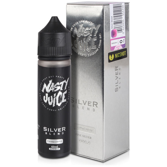 Silver Blend eLiquid by Nasty Juice Tobacco Series - Vapolino UK