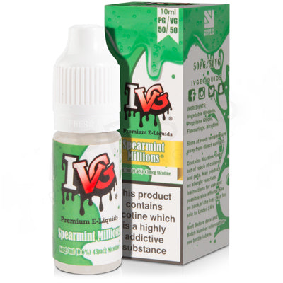 Spearmint Millions E-Liquid by I VG 50/50 - Vapolino UK