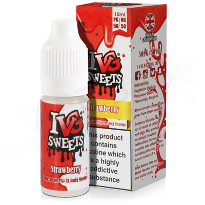 Strawberry E-Liquid by IVG 50/50 - Vapolino UK