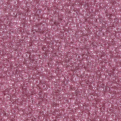 15-1524  Spkg peony pink lined crystal - 10g