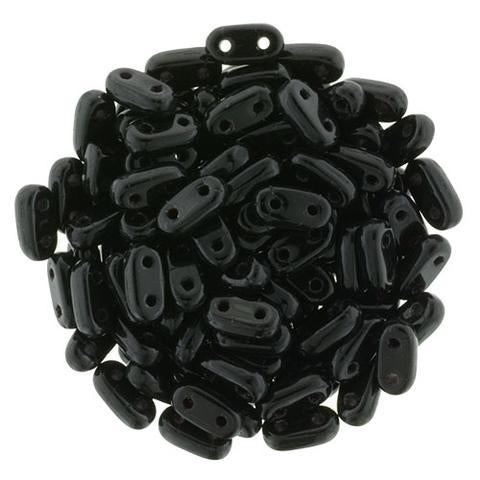 CMB6-23980  Opaque jet - 100 beads