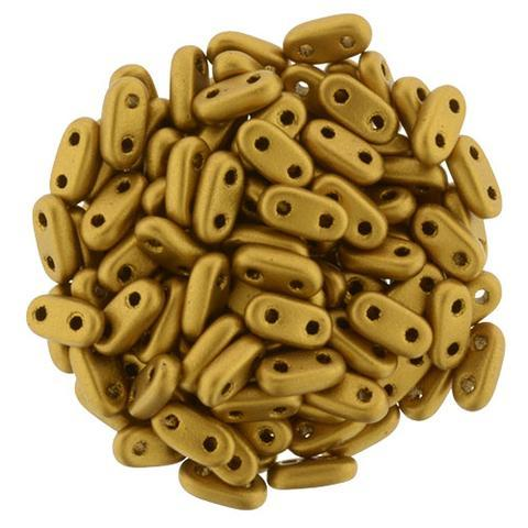 CMB6-K0174  Matte metallic antique gold - 100 beads