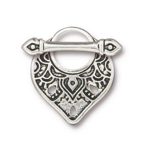 TC94-6231/12 Temple toggle - antique silver