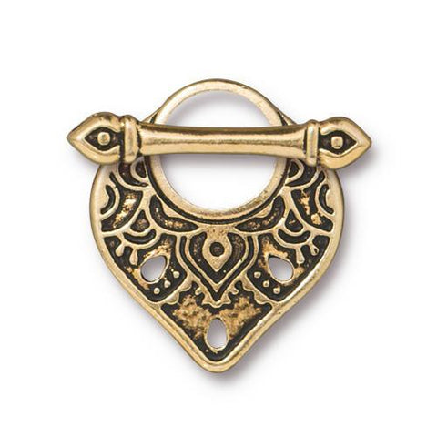 TC94-6231/26 Temple toggle - antique gold