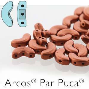 ARC510-30/01750 Matte red bronze - 25 beads