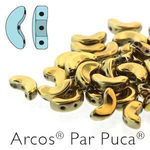 ARC510-30/26440 Full Dorado (gold) - 25 beads