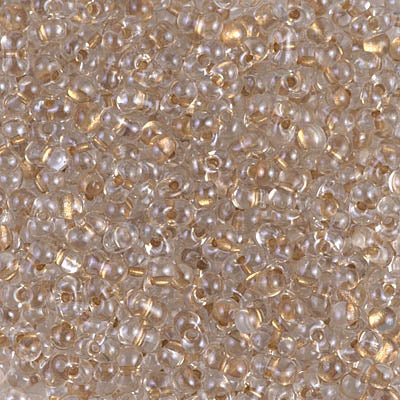 BB-1521  Spkg beige lined crystal - 10g