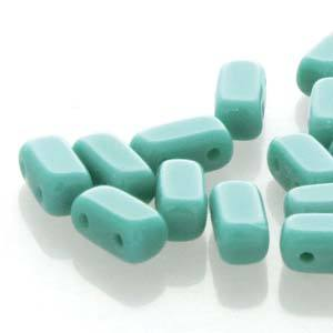BRC-63150  Opaque Persian turquoise - 50 beads