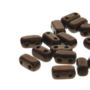BRC-LZ23980 Metallic dark bronze - 50 beads