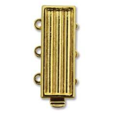 CLSP-171GP3  Delica clasp - gold plate