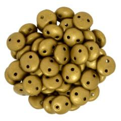 CML-00173  Matte metallic goldenrod - 50 beads
