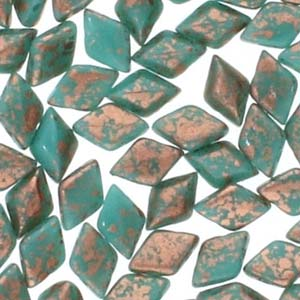 GD85-30/94412 Copper splash turquoise green - 8g