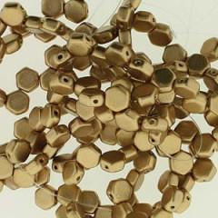 HC06-30/01710  Crystal bronze pale gold - 30 beads
