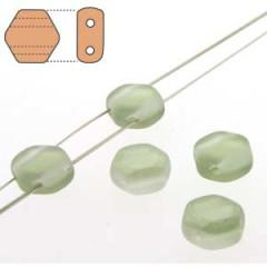 HC06-30/14257M Matte light green luster - 30 beads