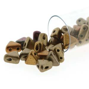 KHP30-01610  Crystal bronze rainbow - 50 beads