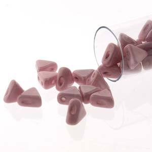 KHP00-14494  Opaque light rose luster - 50 beads