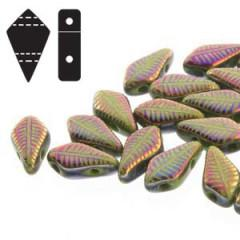 KT95-10/29503F Wasabi laser feather - 50 beads