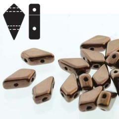 KT95-14415 Metallic dark bronze - 50 beads