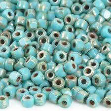 MTB6C-30/43400  Turquoise blue Picasso - 8g