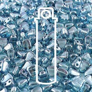 NB65-14464 Crystal blue luster - 50 beads