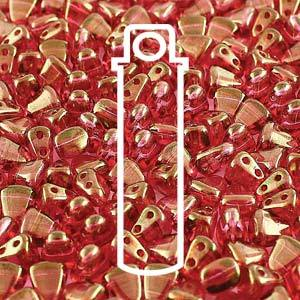 NB65-14495 Crystal red luster - 50 beads