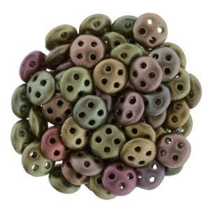 QUL06-K0164  Matte metallic bronze iris - 50 beads