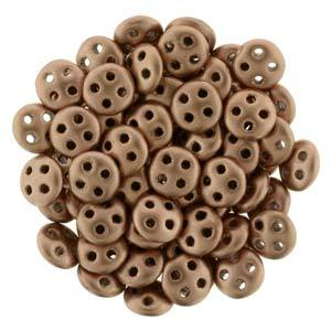 QUL06-K0178  Matte metallic bronze copper - 50 beads