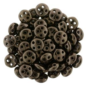 QUL06-14415  Dark metallic bronze - 50 beads