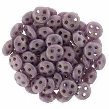 QUL06-P14415  Opaque lilac luster - 50 beads