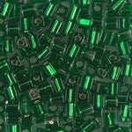 SB4-016  Silver lined green - 35g