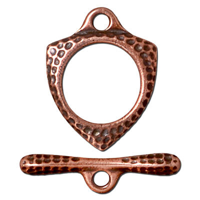 TC94-6211/18 Forged toggle - antique copper