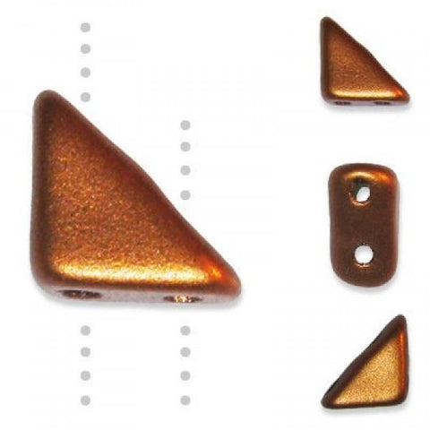 TG06-00177 Matte metallic copper - 50 beads